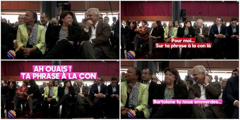 """VIDÉO - """"Bartolone tu nous emmerdes"""" : Aubry et Lebranchu recadrent Bartolone pour sa """"phrase à la con"""""""