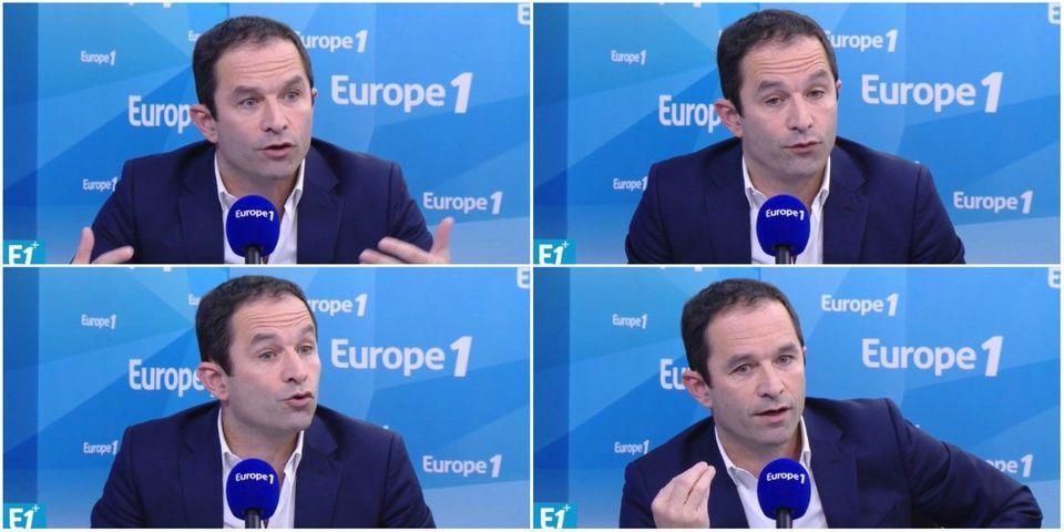 VIDÉO - Benoît Hamon découvre le tweet antisémite de Filoche en direct à la radio deux jours plus tard