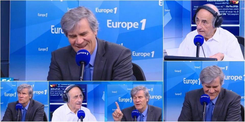 """VIDÉO - Ce moment où Jean-Yves Le Drian fut surnommé """"Doudou"""" en direct à la radio"""
