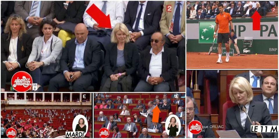 VIDEO - Cette députée qui préfère assister à Roland-Garros plutôt qu'aux questions au gouvernement