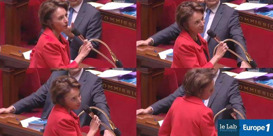 """Comparée à la """"poupée qui dit non"""" par un député UDI, Marisol Touraine lui répond qu'il """"n'ira pas au paradis"""""""
