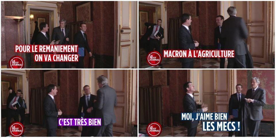 VIDÉO - Emmanuel Macron à l'Agriculture : la vanne pré-remaniement de Manuel Valls