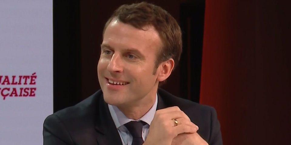 VIDÉO - Emmanuel Macron accuse François Fillon de plagier une partie de son programme santé
