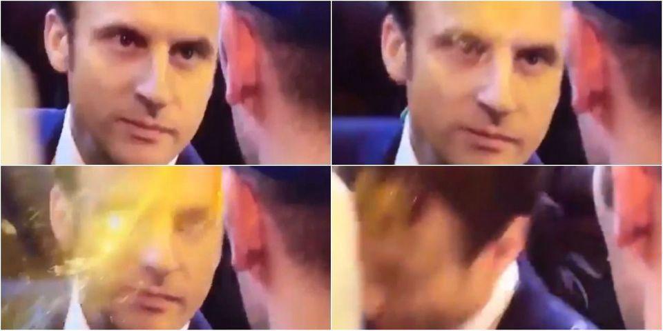 VIDÉO - Emmanuel Macron reçoit un œuf en pleine tête au Salon de l'agriculture