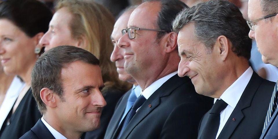 VIDÉO - En matière de sécurité, Emmanuel Macron fait de Nicolas Sarkozy un homme bon à citer