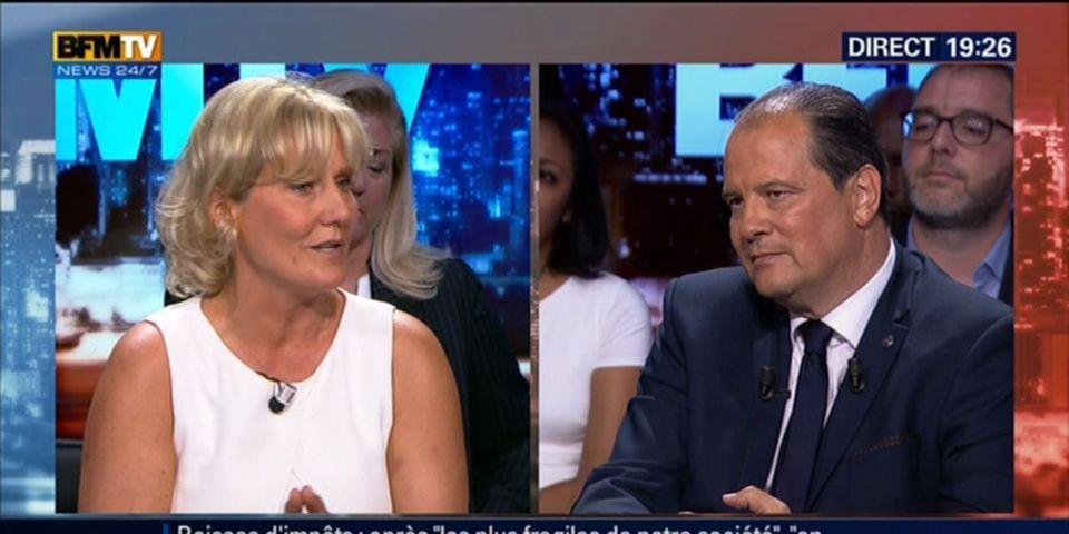 VIDEO - En plein direct, Nadine Morano rappelle les condamnations judiciaires de Jean-Christophe Cambadélis