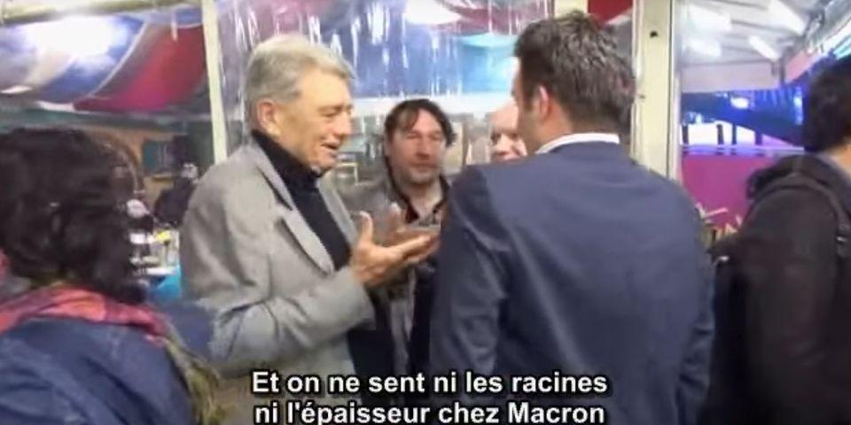 VIDÉO – Filmés à leur insu, Alain Madelin et Florian Philippot critiquent Emmanuel Macron à la Foire du Trône