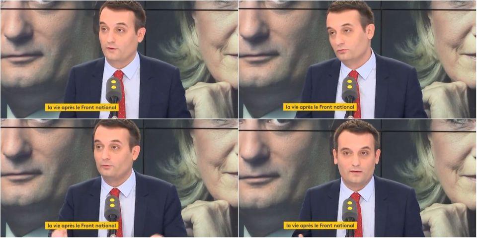 """VIDÉO - Florian Philippot considère désormais le Front national comme un """"adversaire politique"""" au même titre que les autres partis"""