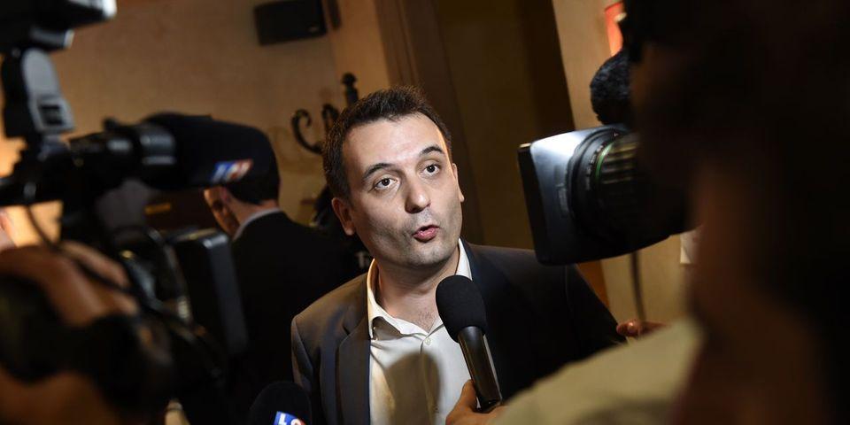 VIDÉO - Florian Philippot critique Marine Le Pen qui fait une conférence de presse sur les ennuis bancaires du FN et pas sur la loi Travail