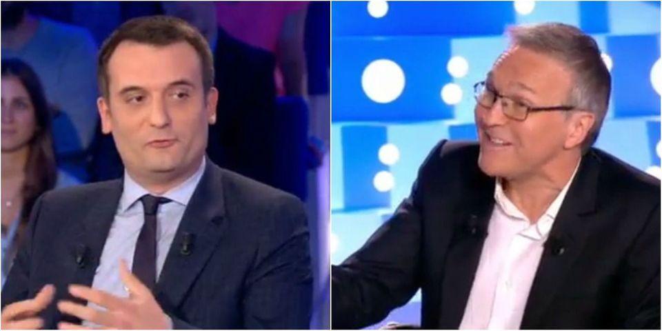 """VIDÉO - Florian Philippot reproche à Laurent Ruquier une """"fatwa"""" contre le FN à """"On n'est pas couché"""""""