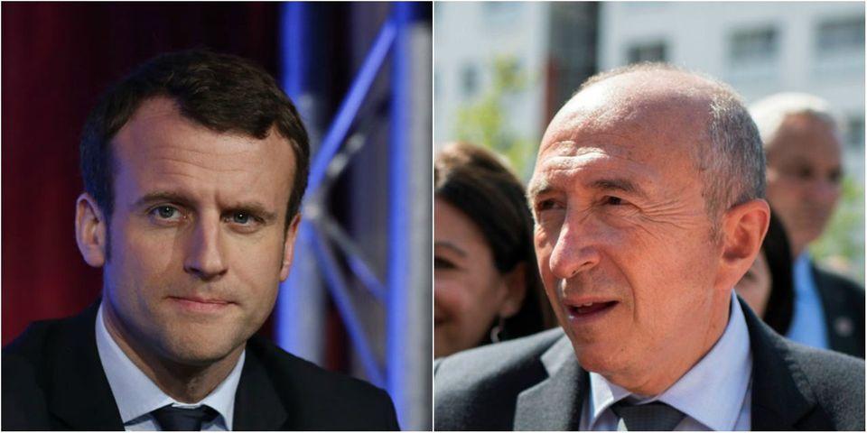 """VIDÉO – Gérard Collomb, ministre de l'Intérieur et fan numéro 1 d'Emmanuel Macron avant tout : """"Il a révolutionné le monde"""""""
