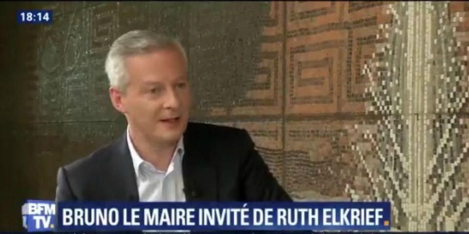 """VIDÉO – """"Hermès"""" et """"Jupiter"""" : Bruno Le Maire assure que l'exécutif n'a """"pas pété un câble"""""""