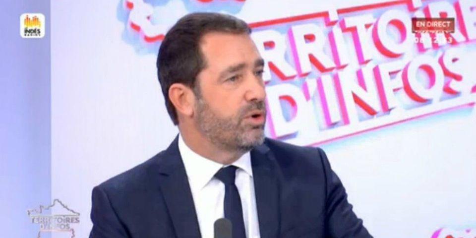 """VIDÉO – """"Intéressé"""", Castaner sous-entend qu'il peut diriger La République en marche tout en restant ministre"""