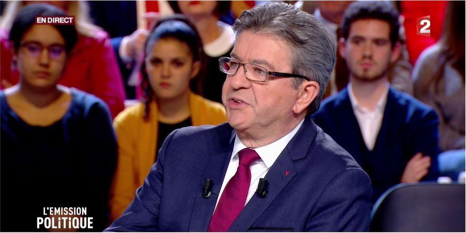 VIDÉO - Interrogé sur le harcèlement dont sont victimes les femmes, Jean-Luc Mélenchon dit avoir lui-même été harcelé