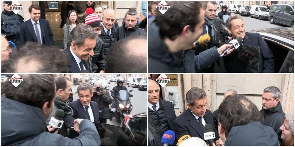 """VIDÉO – Nicolas Sarkozy moque l'état des forces à l'UMP : """"il faut qu'on fasse avec ce qu'on a"""""""