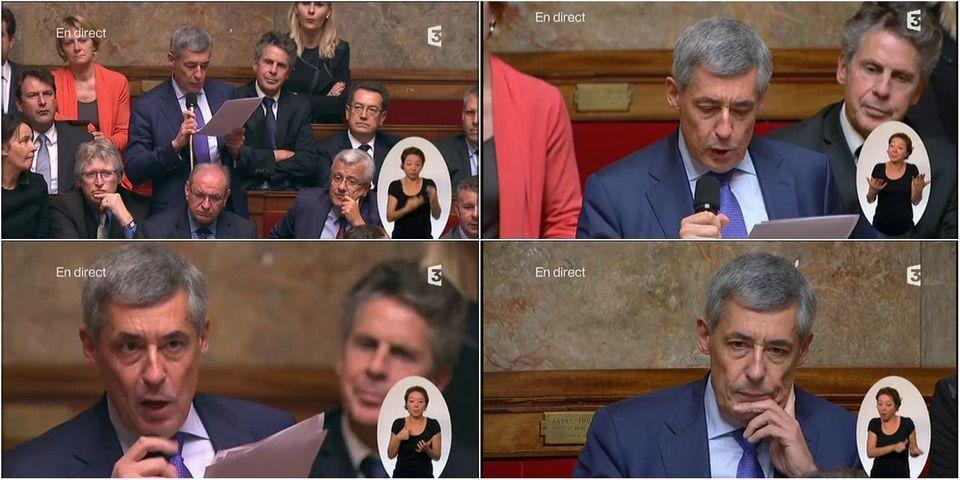 """VIDÉO - La diatribe d'Henri Guaino contre les """"juges infâmes"""", à l'Assemblée nationale"""