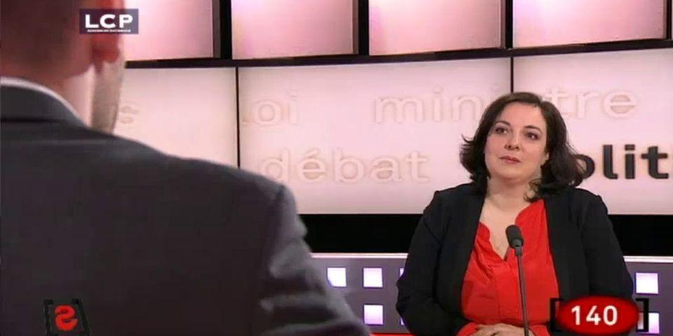"""[VIDÉO] La patronne des Verts Emmanuelle Cosse reconnaît qu'elle est """"complètement folle"""""""