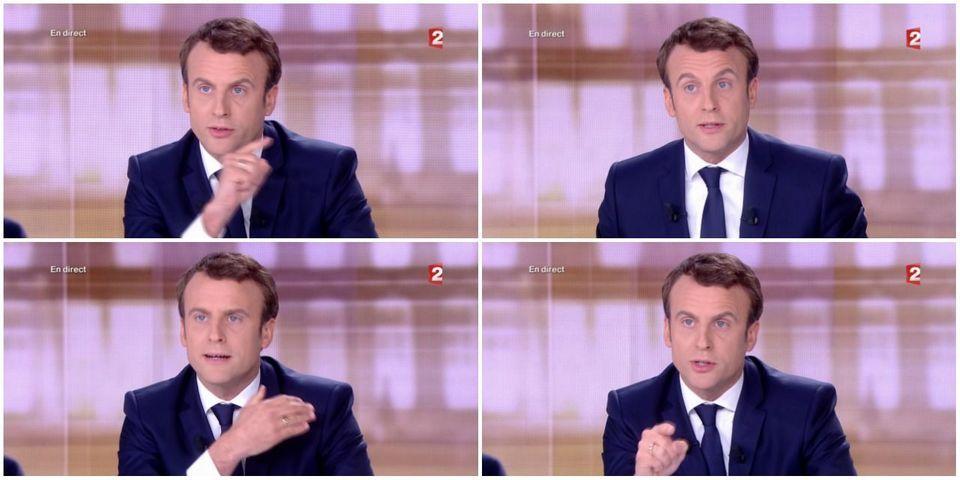 VIDÉO - La très violente attaque d'Emmanuel Macron contre Marine Le Pen et ses affaires judiciaires