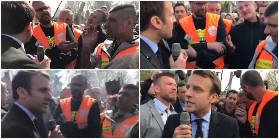 Du chaos au dialogue, la visite hors norme de Macron à l'usine Whirlpool d'Amiens
