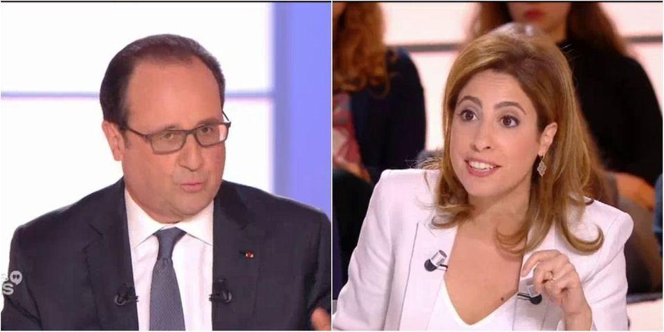 """VIDÉO - Le """"c'est une plaisanterie !?"""" de Léa Salamé à François Hollande"""