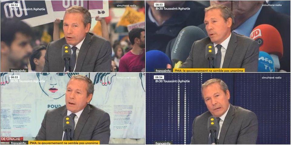VIDÉO - Le député LREM Jean-Michel Fauvergue refuse de donner sa position sur la PMA