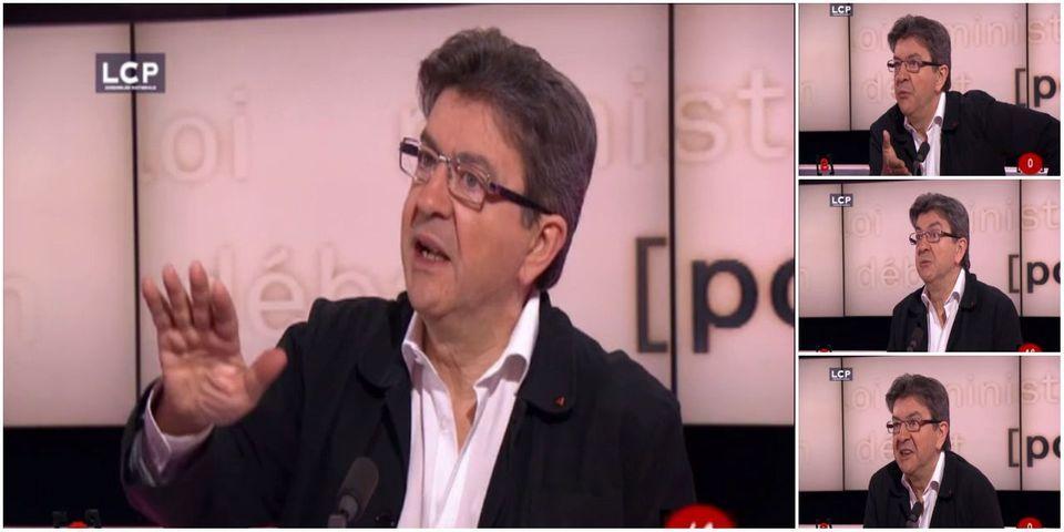 [VIDÉO] L'échange tendu entre Jean-Luc Mélenchon et le Lab sur son rapport aux journalistes