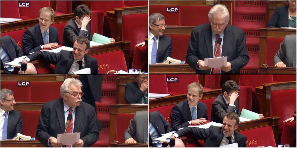 VIDÉO - Loi Macron : quand le député André Chassaigne défend un amendement en 25 secondes chrono