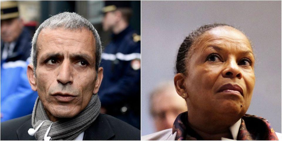 """VIDÉO - Malek Boutih (PS) estime que Christiane Taubira """"est trop victime"""" et """"se plaint du racisme tout le temps"""""""