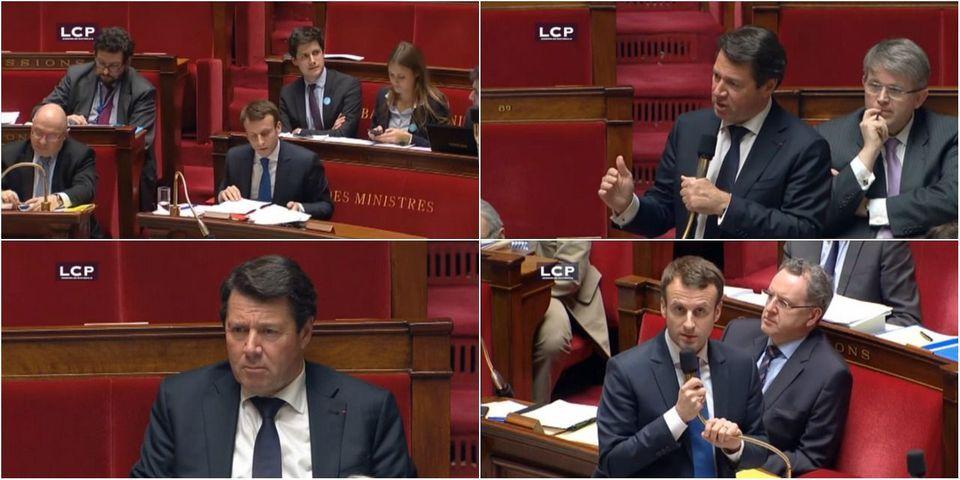 """VIDÉO - """"Manque de courtoise"""" contre """"manque de courage"""" : échange musclé entre Emmanuel Macron et Christian Estrosi en séance"""