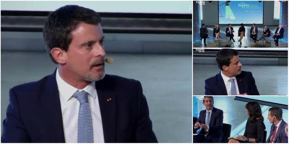 """VIDÉO - Manuel Valls évoque """"le problème de l'islam, des musulmans"""" dans la société française"""