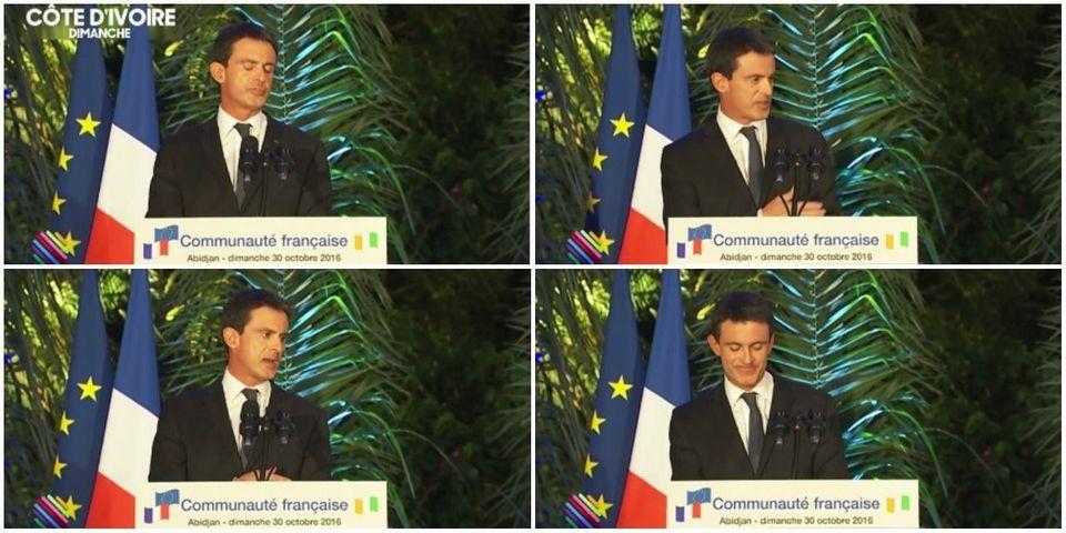 VIDÉO - Manuel Valls recadre en plein discours Jean-Marie Le Guen, pris en flag avec son téléphone