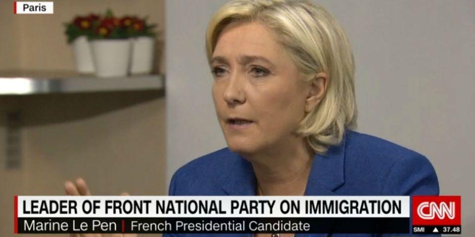 VIDÉO -  Marine Le Pen s'obstine à nier avoir tenu ces propos polémiques sur les clandestins