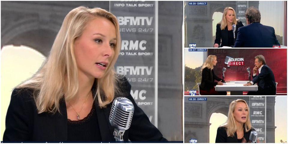 VIDÉO - Marion Maréchal-Le Pen sèche sur le nombre d'habitants en région PACA (où elle était candidate aux régionales)
