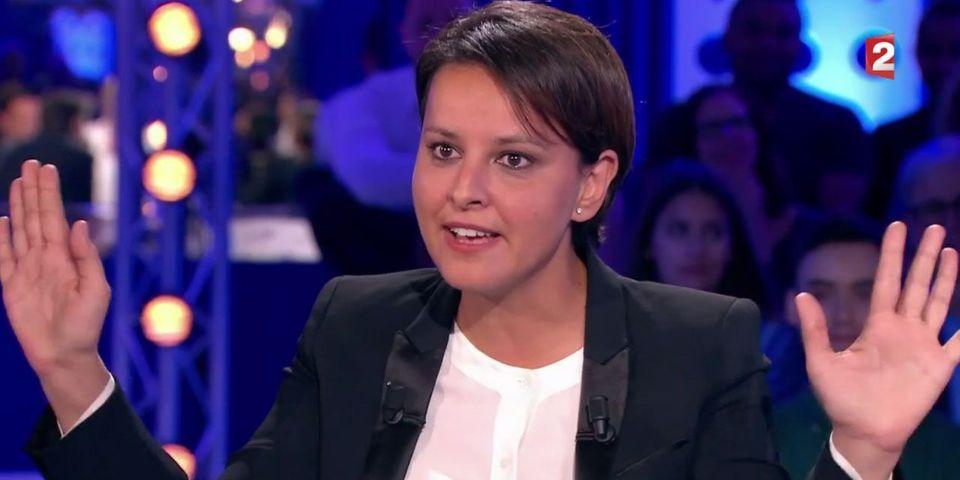 VIDÉO - Najat Vallaud-Belkacem accuse la journaliste d'On n'est pas couché Vanessa Burggraf de relayer des fake news