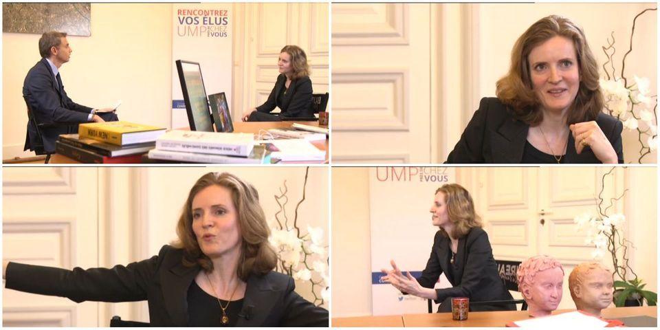 VIDEO - Nathalie Kosciusko-Morizet refuse de parler de ses éventuelles ambitions présidentielles