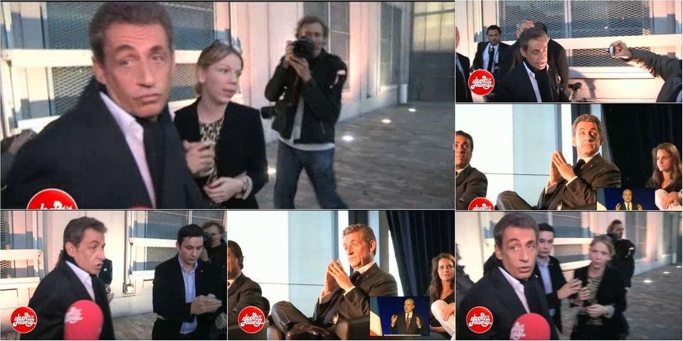 """VIDÉO - Sarkozy prétend ne pas avoir """"entendu"""" les huées contre Juppé"""