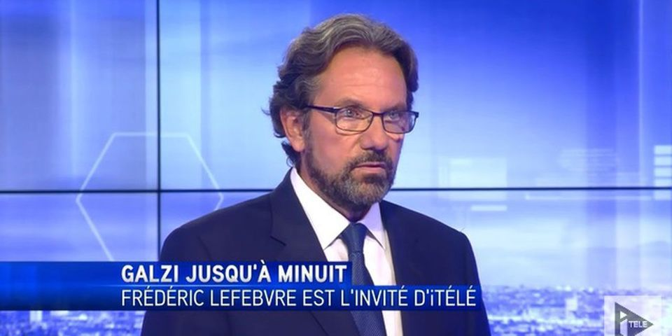 """VIDÉO - Non-qualifié pour la primaire de la droite, Frédéric Lefebvre dénonce un """"terrorisme politique"""""""
