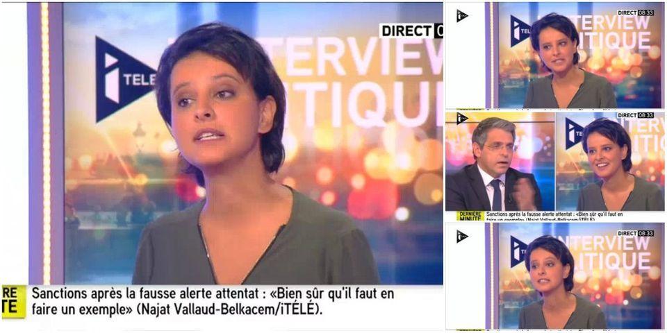 """VIDÉO - """"Nos ancêtres les Gaulois"""" : le petit cours d'histoire de Najat Vallaud-Belkacem, ministre de l'Education nationale, à Nicolas Sarkozy"""