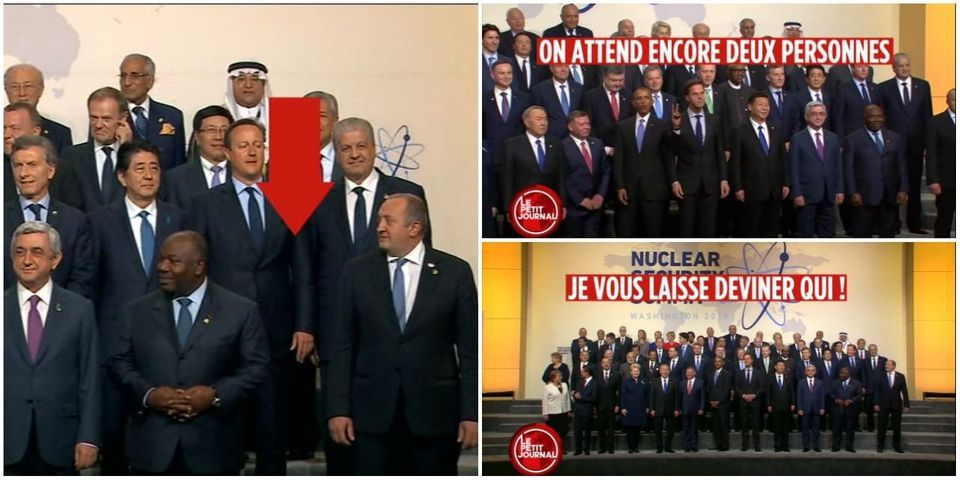 VIDÉO - Obama chambre le retard de Hollande à une photo de famille des chefs d'Etat au sommet sur la sécurité nucléaire