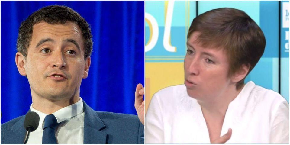 """VIDÉO – Pour Caroline de Haas, Emmanuel Macron a franchi """"une ligne jaune"""" en nommant au gouvernement de Gérald Darmanin, qu'elle juge """"homophobe"""""""