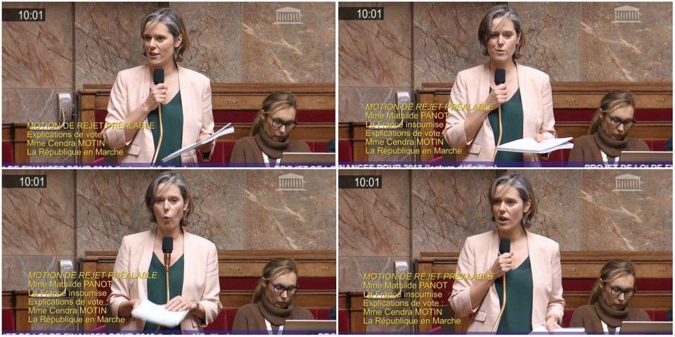 VIDÉO - Pour la dernière séance de l'année, une députée LREM décide de ne s'exprimer qu'en vers pour défendre le budget