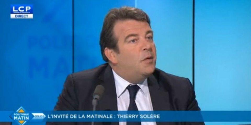 """VIDÉO – Pour Solère, il est """"évident"""" que Wauquiez veut faire alliance avec des membres du FN"""