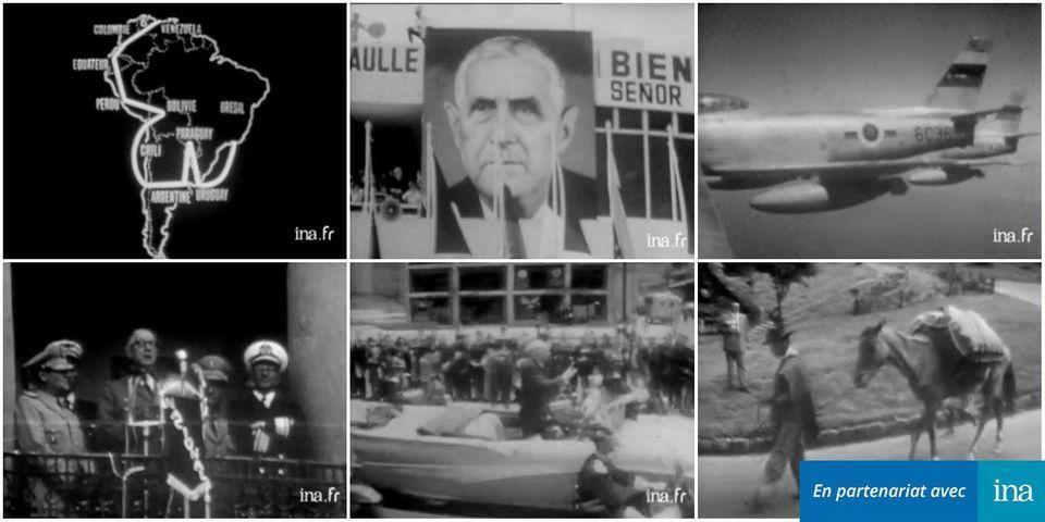 VIDÉO – Quand De Gaulle partait 26 jours en voyage d'Etat en Amérique du Sud