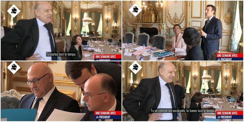 """[VIDEO] Michel Sapin à Emmanuel Macron : """"Tu es comme les escargots, tu baves tout le temps"""""""