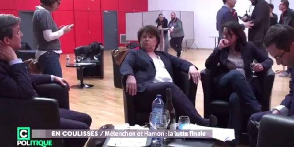 VIDÉO - Quand Martine Aubry refuse de gonfler les chiffres de la participation au meeting de Benoît Hamon à Lille