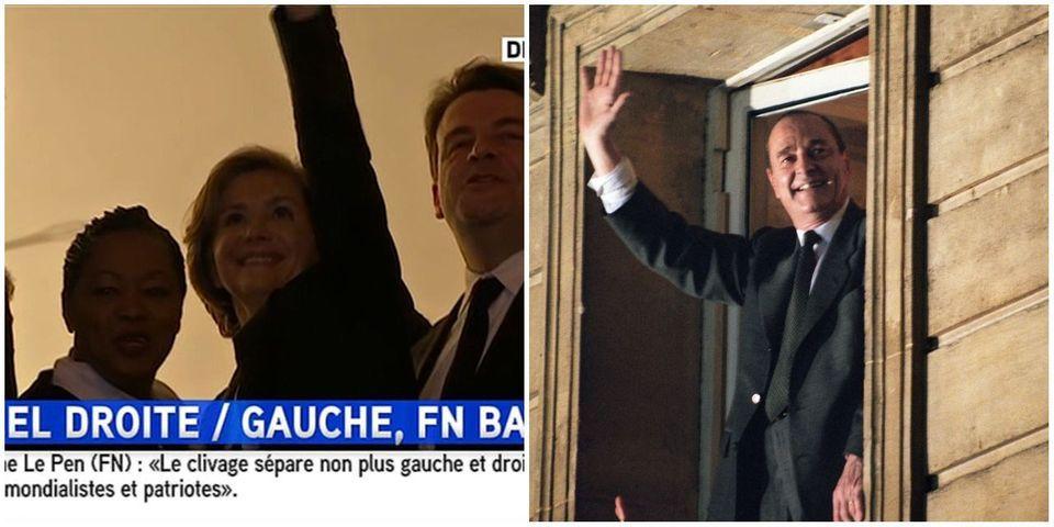 VIDÉO - Résultats régionales : comme Chirac en 1995, Pécresse célèbre sa victoire en Ile-de-France depuis la fenêtre de son QG