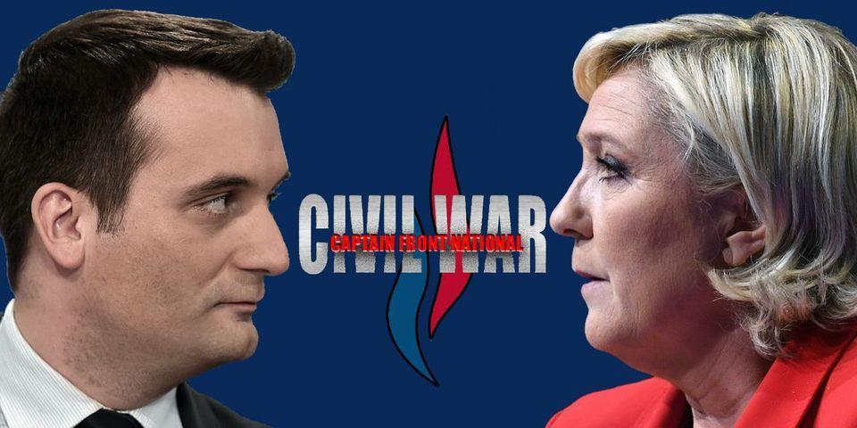 VIDÉO - Si la guerre Marine Le Pen / Florian Philippot était adaptée au cinéma, cela ressemblerait à ça