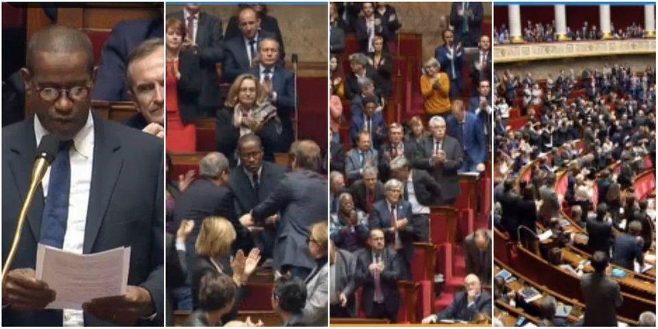 VIDEO - Standing ovation après la question d'un député MoDem descendant d'esclave sur les ventes aux enchères de migrants en Libye