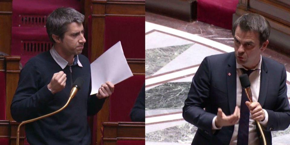 """VIDÉO - Vaccins obligatoires : Olivier Véran (LREM) juge """"pas dignes"""" les propos de François Ruffin (LFI) sur un """"débat escamoté"""""""