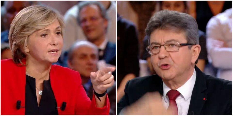 """VIDÉO – Valérie Pécresse raconte à Jean-Luc Mélenchon avoir failli se """"faire casser la gueule"""" par des manifestants"""